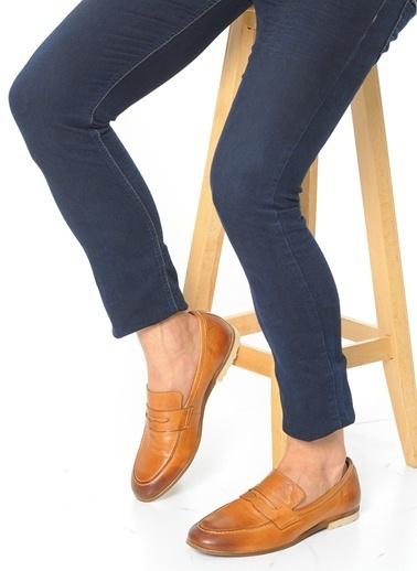 Faruk Sağın %100 Deri Casual Ayakkabı Taba